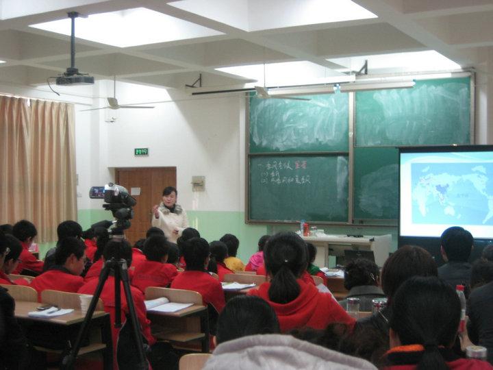 我校谢丹老师代表安庆市区参加省级优质课比赛